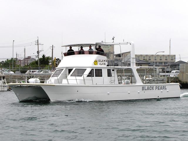 石垣島カタマランボート BLACK PEARL