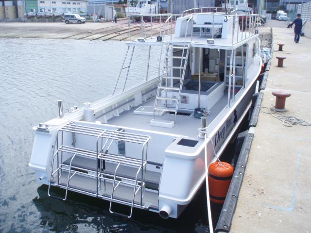 小笠原ダイビングボート Deep Blue