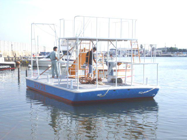 海水浴場ポンツーン ジャンプ丸