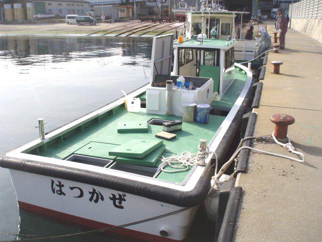 北九州作業兼交通船 はつかぜ