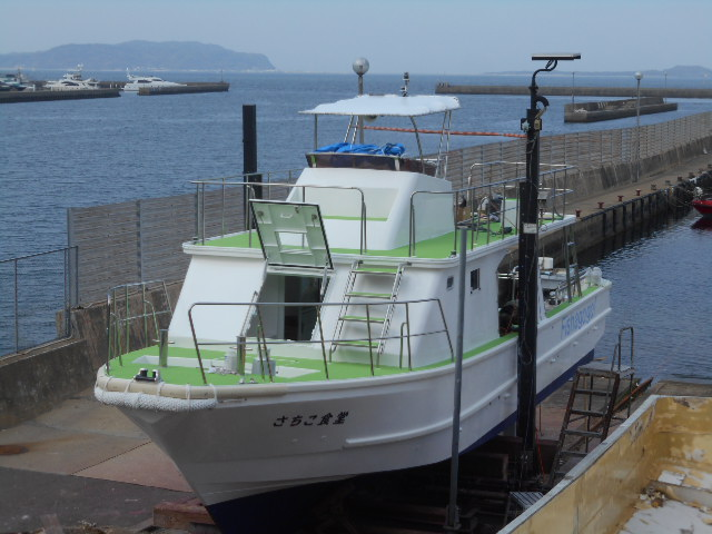 宮古島向きダイビングボート「さちこ食堂」 2020/4/1