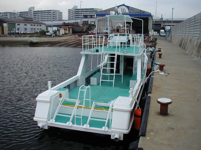 西表島ダイビングボート NIRAKANAI Ⅲ