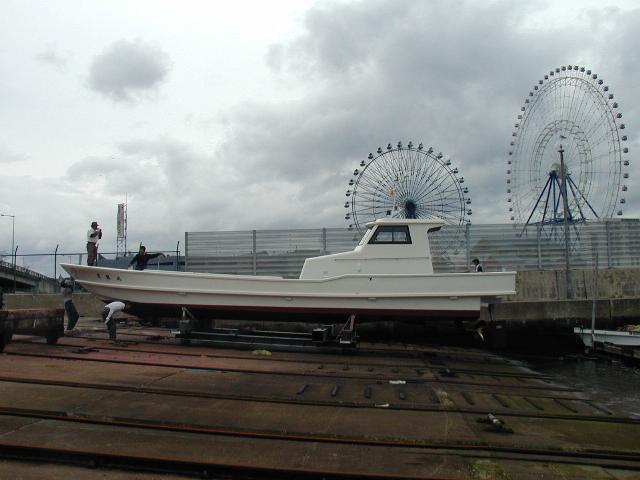 門司向きカキ養殖作業船 豊龍丸