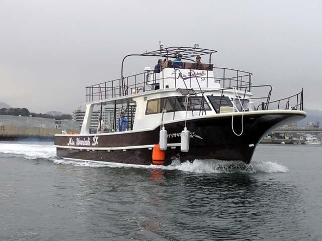 西表島向きダイビングボートMiss UNARIZAKI Ⅸ