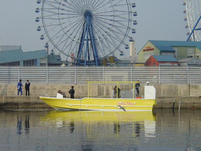 西表島向きダイビングボート 36 Divingboat