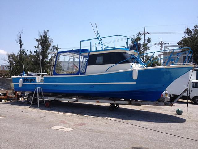 阿嘉島ダイビングボート HOPE