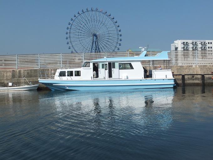 広島;かなわ丸(旅客船)進水、回航(2018/3/26)