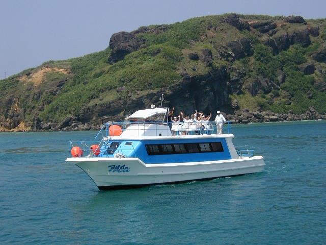 与那国海底遺跡観覧船 アクア・ムー
