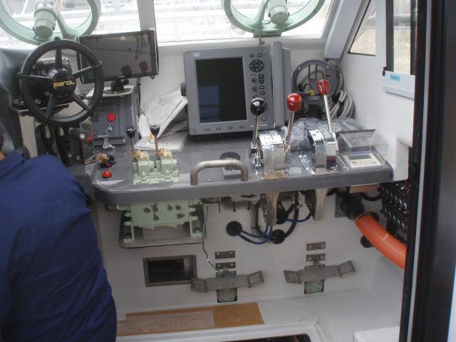 ノリ養殖作業船 JF Arahama