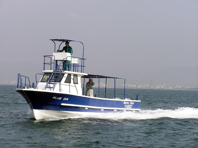 宮古島ダイビングボート BLUE DIE
