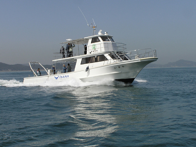 愛媛大学調査実習船 いさな 試運転