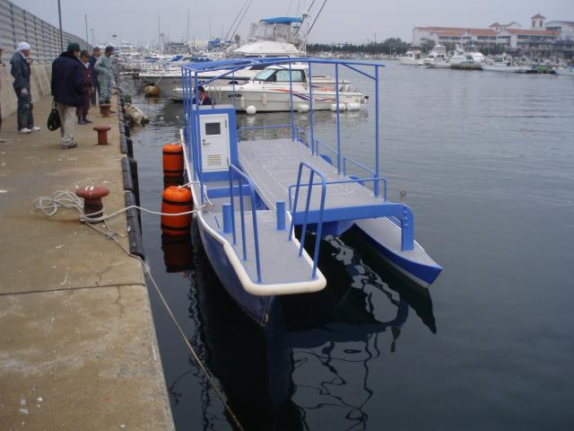 小笠原アウトリガー型船 Blue lace