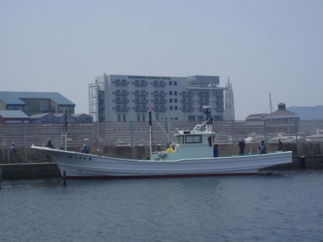 東北震災船 くまの丸 進水