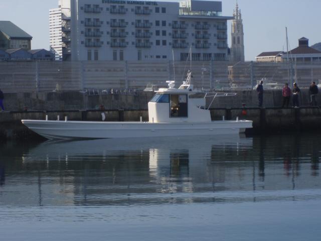 広島カキ作業船 京栄丸 進水