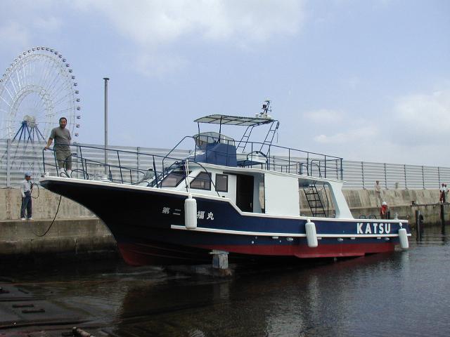 石垣島向きダイビングボート第二 清福丸